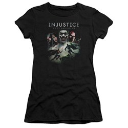 Injustice Gods Among Us - Juniors Key Art Premium Bella T-Shirt
