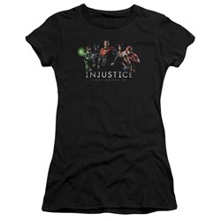 Injustice Gods Among Us - Juniors Injustice League Premium Bella T-Shirt