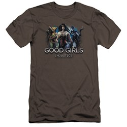 Injustice Gods Among Us - Mens Good Girls Premium Slim Fit T-Shirt