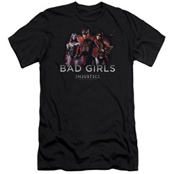 Injustice Gods Among Us - Mens Bad Girls Premium Slim Fit T-Shirt