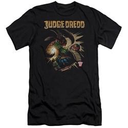 Judge Dredd - Mens Blast Away Premium Slim Fit T-Shirt