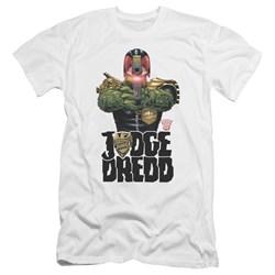 Judge Dredd - Mens In My Sights Premium Slim Fit T-Shirt