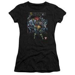 Judge Dredd - Juniors Behind You Premium Bella T-Shirt