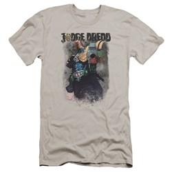 Judge Dredd - Mens Last Words Premium Slim Fit T-Shirt