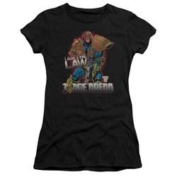 Judge Dredd - Juniors Law Premium Bella T-Shirt