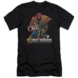 Judge Dredd - Mens Law Premium Slim Fit T-Shirt