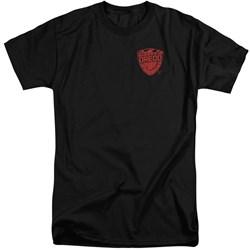 Judge Dredd - Mens Badge Tall T-Shirt