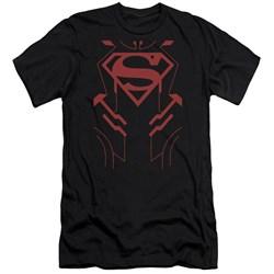 Jla - Mens Superboy Premium Slim Fit T-Shirt