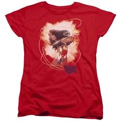 Wonder Woman - Womens 75Th Burst T-Shirt
