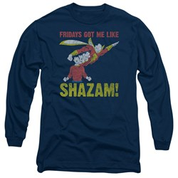 Jla - Mens Fridays Got Me Like Long Sleeve T-Shirt