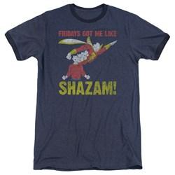 Jla - Mens Fridays Got Me Like Ringer T-Shirt