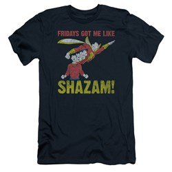 Jla - Mens Fridays Got Me Like Slim Fit T-Shirt