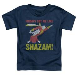 Jla - Toddlers Fridays Got Me Like T-Shirt