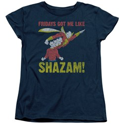 Jla - Womens Fridays Got Me Like T-Shirt
