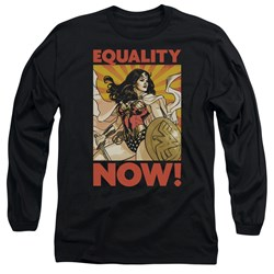 Wonder Woman - Mens Now Long Sleeve T-Shirt