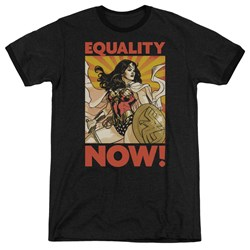 Wonder Woman - Mens Now Ringer T-Shirt