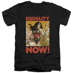 Wonder Woman - Mens Now V-Neck T-Shirt