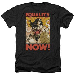 Wonder Woman - Mens Now Heather T-Shirt