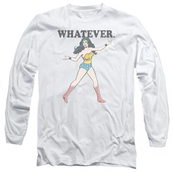 Wonder Woman - Mens Whatever Long Sleeve T-Shirt