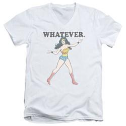 Wonder Woman - Mens Whatever V-Neck T-Shirt