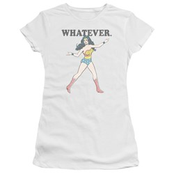 Wonder Woman - Juniors Whatever T-Shirt