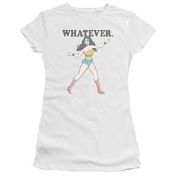 Wonder Woman - Juniors Whatever Premium Bella T-Shirt