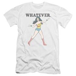 Wonder Woman - Mens Whatever Premium Slim Fit T-Shirt