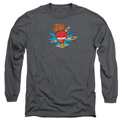 Dc Flash - Mens Too Slow Long Sleeve T-Shirt