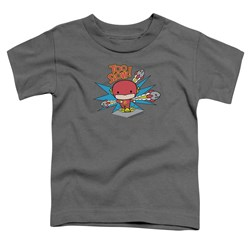 Dc Flash - Toddlers Too Slow T-Shirt