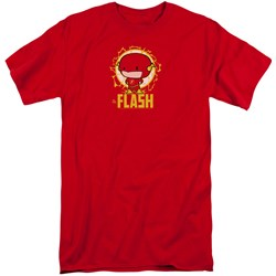 Dc Flash - Mens Flash Chibi Tall T-Shirt