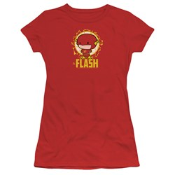 Dc Flash - Juniors Flash Chibi T-Shirt