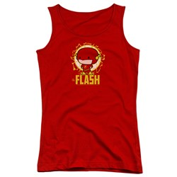 Dc Flash - Juniors Flash Chibi Tank Top