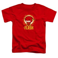 Dc Flash - Toddlers Flash Chibi T-Shirt