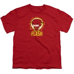 Dc Flash - Youth Flash Chibi T-Shirt