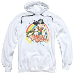 Wonder Woman - Mens Wonder Airbrush Pullover Hoodie