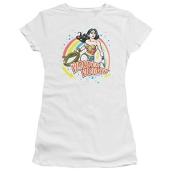 Wonder Woman - Juniors Wonder Airbrush T-Shirt