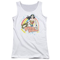 Wonder Woman - Juniors Wonder Airbrush Tank Top