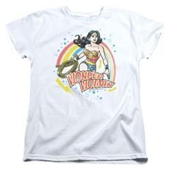 Wonder Woman - Womens Wonder Airbrush T-Shirt