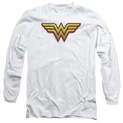 Wonder Woman - Mens Airbrush Ww Long Sleeve T-Shirt