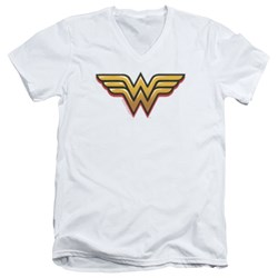 Wonder Woman - Mens Airbrush Ww V-Neck T-Shirt