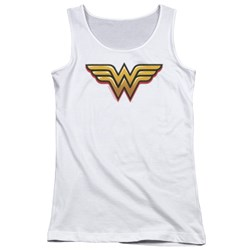 Wonder Woman - Juniors Airbrush Ww Tank Top