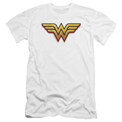 Wonder Woman - Mens Airbrush Ww Premium Slim Fit T-Shirt