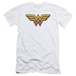 Wonder Woman - Mens Airbrush Ww Slim Fit T-Shirt