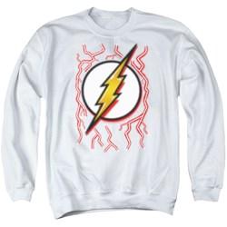 Dc Flash - Mens Airbrush Bolt Sweater