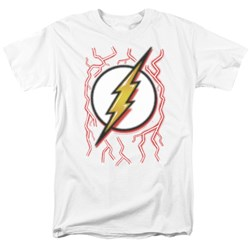 Dc Flash - Mens Airbrush Bolt T-Shirt