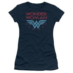 Wonder Woman - Juniors Wonder Stars T-Shirt