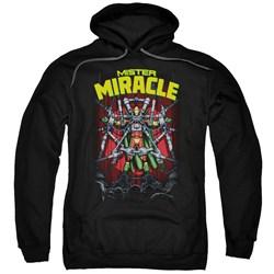 Jla - Mens Mister Miracle Pullover Hoodie