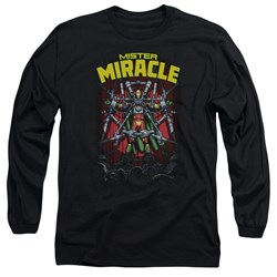 Jla - Mens Mister Miracle Long Sleeve T-Shirt