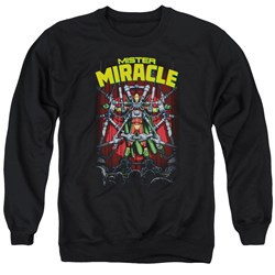 Jla - Mens Mister Miracle Sweater