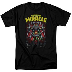 Jla - Mens Mister Miracle T-Shirt